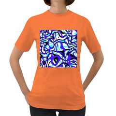 Ribbon Chaos Ocean Women s Dark T Shirt by ImpressiveMoments