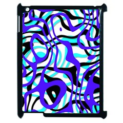 Ribbon Chaos Ocean Apple Ipad 2 Case (black) by ImpressiveMoments