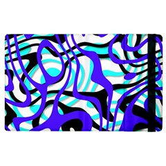 Ribbon Chaos Ocean Apple Ipad 2 Flip Case by ImpressiveMoments