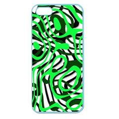 Ribbon Chaos Green Apple Seamless Iphone 5 Case (color) by ImpressiveMoments