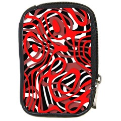 Ribbon Chaos Red Compact Camera Cases by ImpressiveMoments