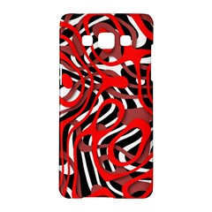 Ribbon Chaos Red Samsung Galaxy A5 Hardshell Case