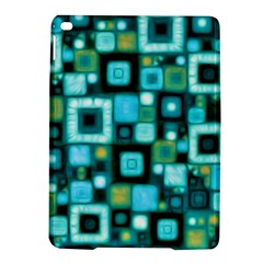 Teal Squares Ipad Air 2 Hardshell Cases by KirstenStar