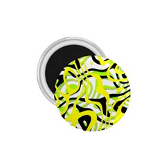 Ribbon Chaos Yellow 1 75  Magnets by ImpressiveMoments