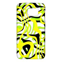 Ribbon Chaos Yellow Galaxy S6 by ImpressiveMoments