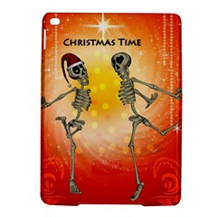 Dancing For Christmas, Funny Skeletons Ipad Air 2 Hardshell Cases by FantasyWorld7