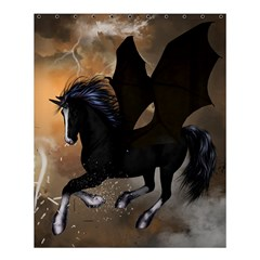 Awesome Dark Unicorn With Clouds Shower Curtain 60  X 72  (medium)