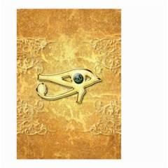 The All Seeing Eye With Eye Made Of Diamond Small Garden Flag (two Sides) by FantasyWorld7