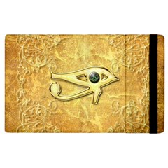 The All Seeing Eye With Eye Made Of Diamond Apple Ipad 3/4 Flip Case by FantasyWorld7