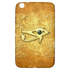 The All Seeing Eye With Eye Made Of Diamond Samsung Galaxy Tab 3 (8 ) T3100 Hardshell Case  by FantasyWorld7
