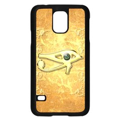 The All Seeing Eye With Eye Made Of Diamond Samsung Galaxy S5 Case (black) by FantasyWorld7