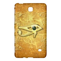 The All Seeing Eye With Eye Made Of Diamond Samsung Galaxy Tab 4 (8 ) Hardshell Case  by FantasyWorld7