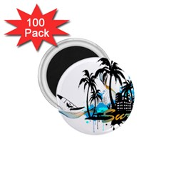 Surfing 1 75  Magnets (100 Pack)  by EnjoymentArt