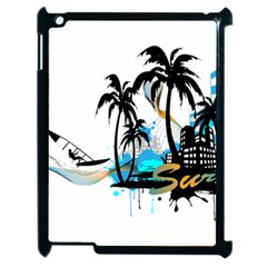 Surfing Apple Ipad 2 Case (black) by EnjoymentArt