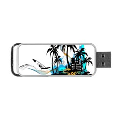 Surfing Portable Usb Flash (two Sides) by EnjoymentArt