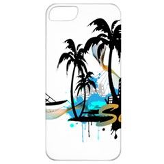 Surfing Apple Iphone 5 Classic Hardshell Case by EnjoymentArt