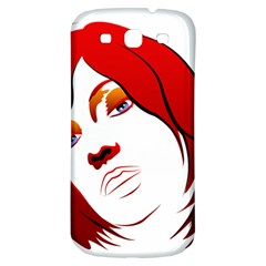 Women Face With Clef Samsung Galaxy S3 S Iii Classic Hardshell Back Case