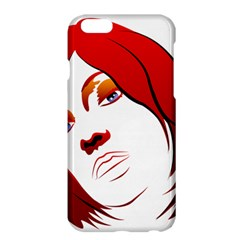 Women Face With Clef Apple Iphone 6 Plus/6s Plus Hardshell Case