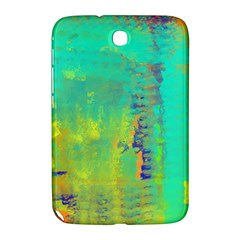 Abstract In Turquoise, Gold, And Copper Samsung Galaxy Note 8 0 N5100 Hardshell Case  by digitaldivadesigns