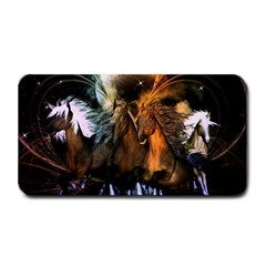 Wonderful Horses In The Universe Medium Bar Mats by FantasyWorld7