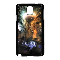 Wonderful Horses In The Universe Samsung Galaxy Note 3 Neo Hardshell Case (black) by FantasyWorld7