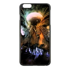 Wonderful Horses In The Universe Apple Iphone 6 Plus/6s Plus Black Enamel Case by FantasyWorld7