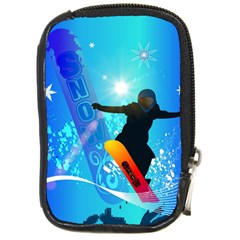 Snowboarding Compact Camera Cases by FantasyWorld7
