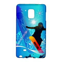 Snowboarding Galaxy Note Edge by FantasyWorld7