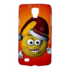 Cute Funny Christmas Smiley With Christmas Tree Galaxy S4 Active by FantasyWorld7
