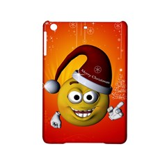Cute Funny Christmas Smiley With Christmas Tree Ipad Mini 2 Hardshell Cases by FantasyWorld7