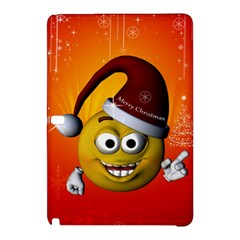 Cute Funny Christmas Smiley With Christmas Tree Samsung Galaxy Tab Pro 10 1 Hardshell Case by FantasyWorld7