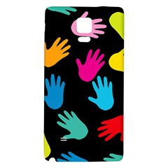All Over Hands Galaxy Note 4 Back Case by ImpressiveMoments