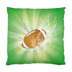 American Football  Standard Cushion Cases (two Sides)  by FantasyWorld7