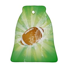 American Football  Bell Ornament (2 Sides) by FantasyWorld7