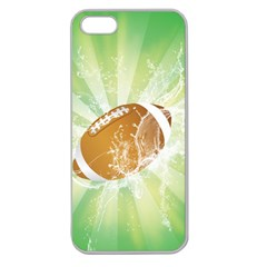 American Football  Apple Seamless Iphone 5 Case (clear) by FantasyWorld7