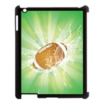 American Football  Apple iPad 3/4 Case (Black) Front