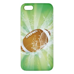 American Football  Iphone 5s Premium Hardshell Case by FantasyWorld7