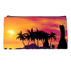 Wonderful Sunset Over The Island Pencil Cases