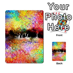 Colorful Tree Landscape Multi-purpose Cards (rectangle)
