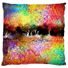 Colorful Tree Landscape Large Cushion Cases (two Sides)
