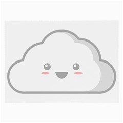 Kawaii Cloud Large Glasses Cloth by KawaiiKawaii