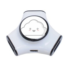 Kawaii Cloud 3-port Usb Hub by KawaiiKawaii