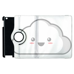 Kawaii Cloud Apple Ipad 2 Flip 360 Case by KawaiiKawaii