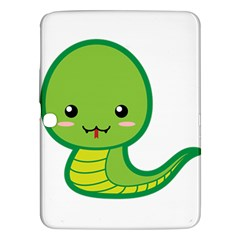 Kawaii Snake Samsung Galaxy Tab 3 (10 1 ) P5200 Hardshell Case  by KawaiiKawaii