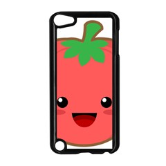 Kawaii Tomato Apple Ipod Touch 5 Case (black) by KawaiiKawaii