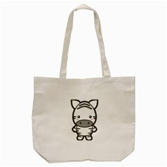 Kawaii Zebra Tote Bag (cream)  by KawaiiKawaii