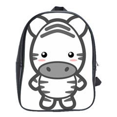Kawaii Zebra School Bags(large)  by KawaiiKawaii