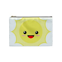 Kawaii Sun Cosmetic Bag (medium)  by KawaiiKawaii