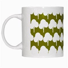 Tree Illustration Gifts White Mugs by creativemom
