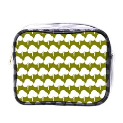 Tree Illustration Gifts Mini Toiletries Bags